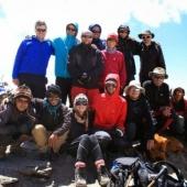 Uspelo nam je. 5319 metrov nad morjem in občutek zmagoslavja