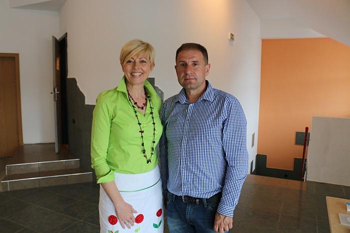 Saša Einsiedler in Tomaž Gorec