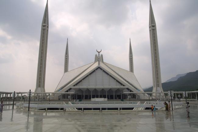 Pakistan - mošeja Islamabad