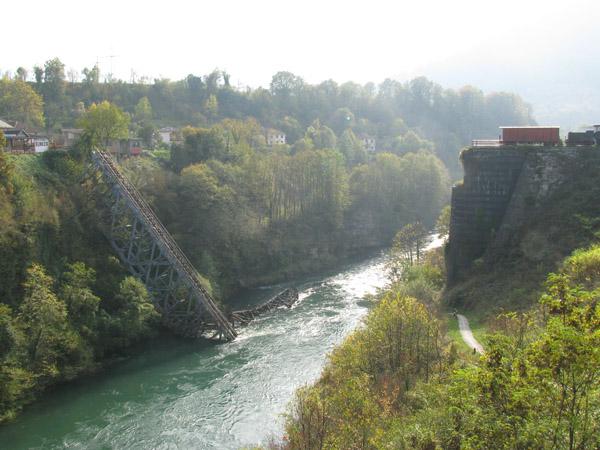 Titov most na reki Neretva - Jablanica