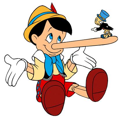 Kdo je večji lažnjivec?