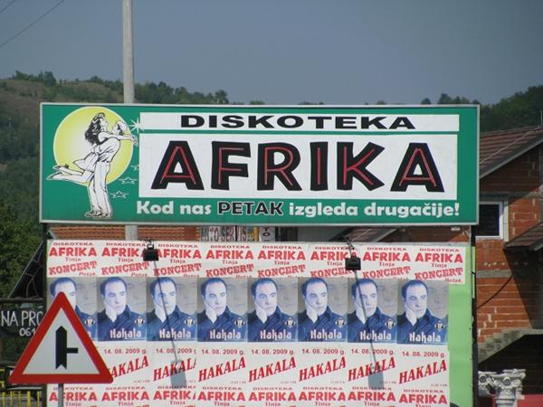 Diskoteka Afrika v Bosni