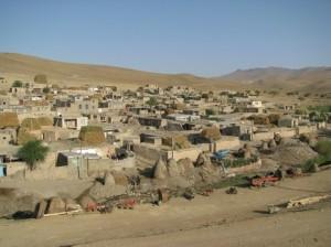 Vas nekje v severno zahodnem Iranu