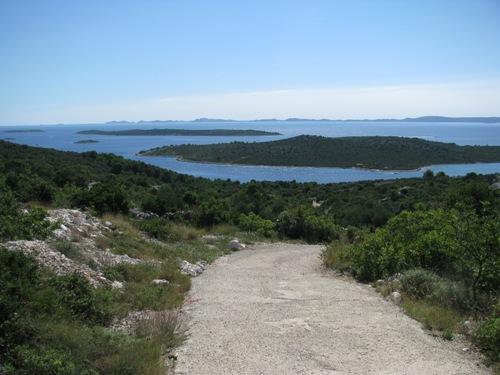 Pogled na otok Žižanj