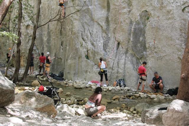 Plezalci v svojem naravnem okolju