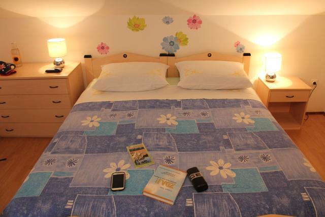 Apartmaji Irena, Otok Krk - spalnica