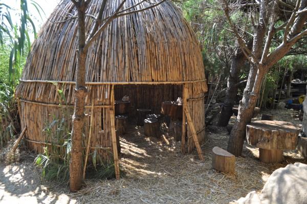Prijeten ambient pod bambusovimi vejami - Rt Kamenjak