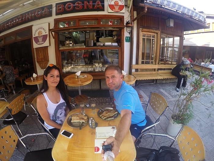 Burek - Baščaršija - Bosna in Hercegovina