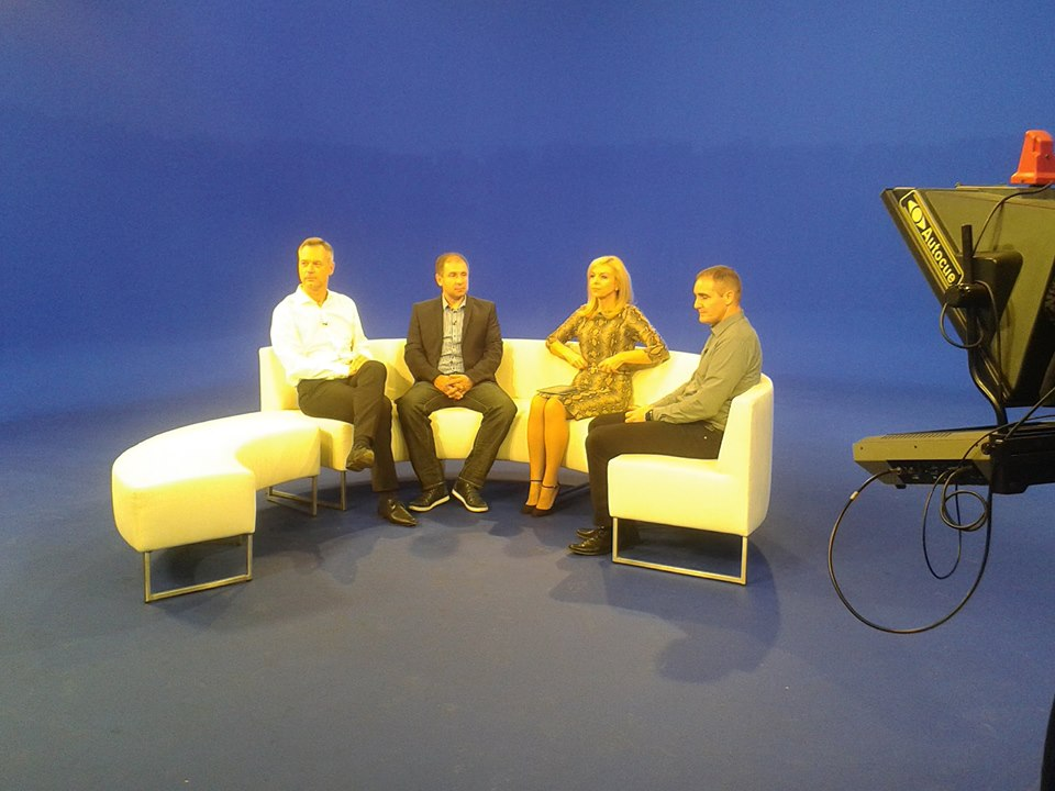 Bil sem gost v oddaji Prava ideja na TV Slovenija