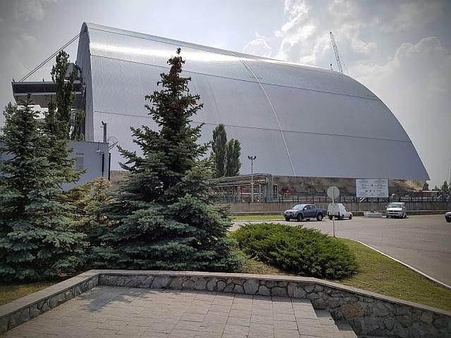 Ukrajina - jedrska elektrarna Černobil