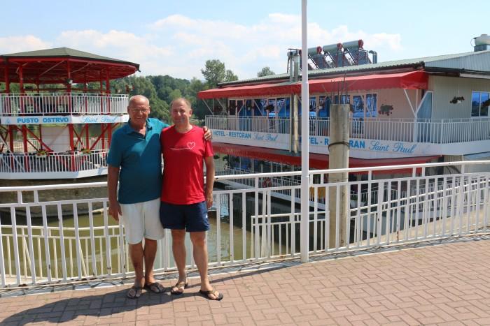 Tomaž Gorec in gospod Pajo