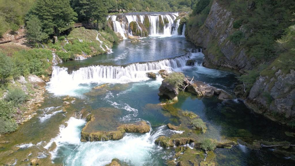 Štrbački buk je najblj znan slap na reki Una
