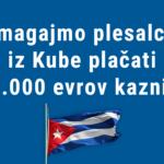 Zberimo 7.000 evrov za plačilo kazni, ki jo morajo plačati plesalci s Kube