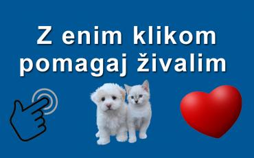 pomagaj živalim