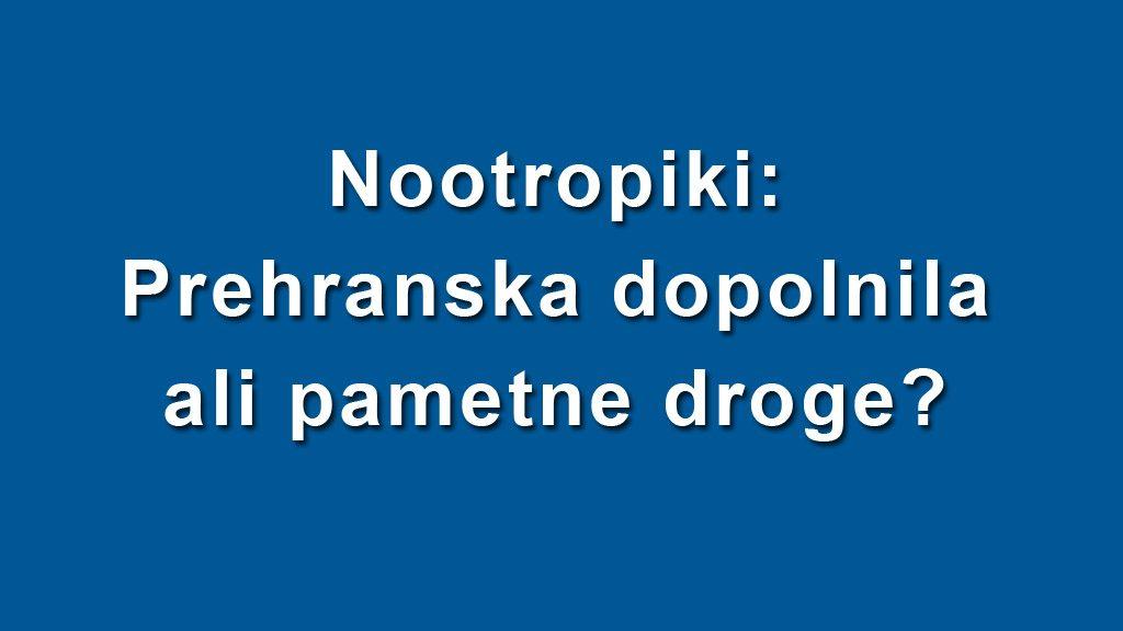 Nootropiki