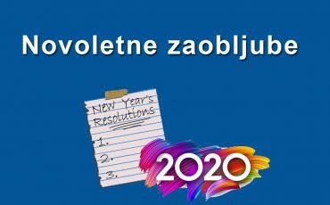 Novoletne zaobljube 2020